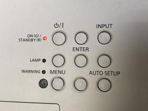 通電の確認 本体電源+操作部分